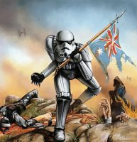Iron Trooper by ReneCampbellArt