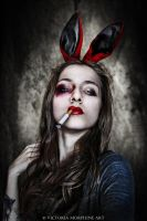 easter bunny by VictoriaMorphine