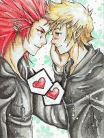 KH - Akuroku #1 by BlackCherryCookie