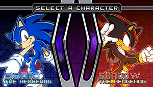 (Sonic vs Darkness TNR) Character Select Menu by Kainoso