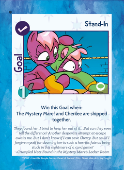 TSSSF Goal Card - Stand-In 1.0.6 by MLP-NovelIdea
