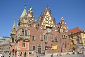 Wroclaw town hall by Risandell