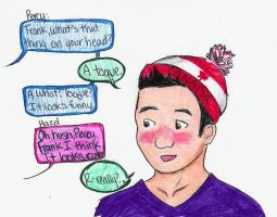 R: Frank in a Toque by Ara-bell