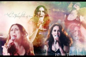 Within Temptation -Faster by CharmingHalliwell
