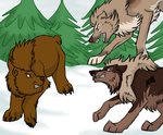.: Winter Confrontation :. by Dunkin-Prime