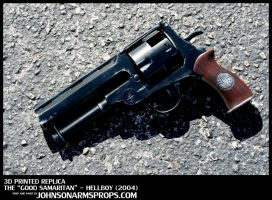 Custom Hellboy 'Good Samaritan' Replica Prop by JohnsonArms