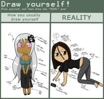 Draw Yourself Meme....Thingy.. by Thongchan