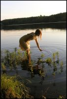 Wading III by Eirian-stock