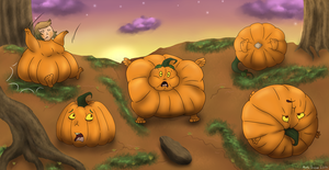 The Pumpkin Patch by MaeraFey