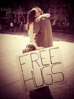 Free Hugs by eulalievarenne