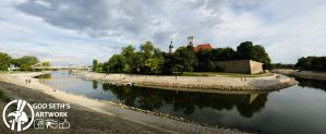 Gyor Downtown Panorama by Seth890603