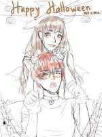 707 X Mc Halloween by LeliaArtwork