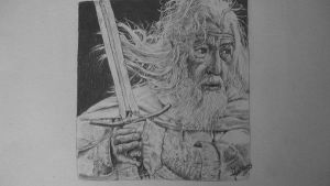 Gandalf the White Finished by Jose-Fien