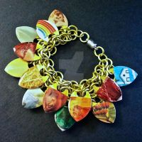The Wizard of Oz Scalemaille Bracelet by Rosie-Periannath
