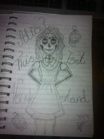 Alice In Wonderland (Pencil) by shannybabe123