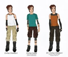 Reina clothing concepts by Tekka-Croe