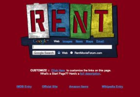 RENT Startpage by AwesomeStart