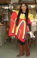 Me in McDonald's French Fries package costume 1 by Magic-Kristina-KW
