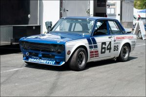 Datsun 510 Racer - V2 by SharkHarrington