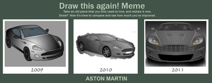 Draw this again: Aston Martin Vector (2009-2011) by Terror-Inferno