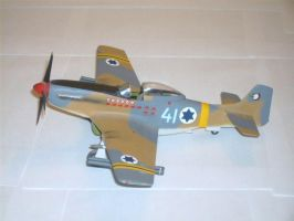 Israeli P-51D Mustang by sentinel28a