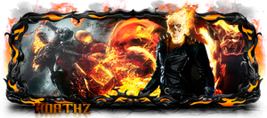 Ghost Rider Sign Modelada by MaiconDesp