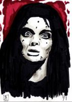 Women of Horror SC- Barbara Steele by kreepykustomz