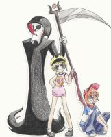 Grim, Billy and Mandy by appleness123