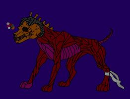 Free Hell Hound Adoptable Closed by rtsbts