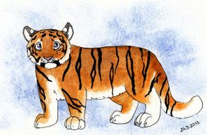 Baby Tiger by Un-zoon