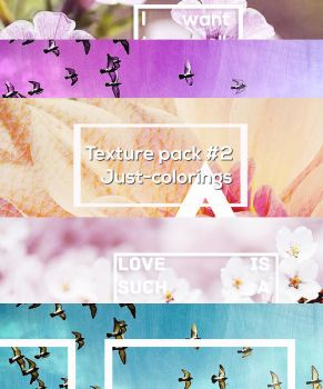 Texture pack #2 - Just-colorings by stephguz