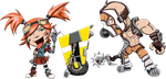 Gaige and Krieg by LastRyghtz