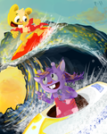 :RQ: Wave Riders by Punch-Holer