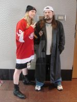 Jay and Silent Bob by MissyTheMouse