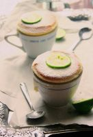 Lime Coconut Souffle by sasQuat-ch