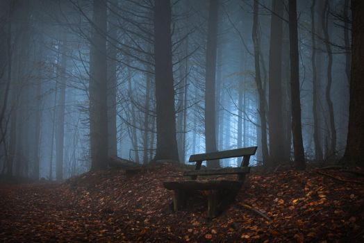 Sitting down for a chat with the devil by aw-landscapes
