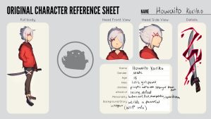 Character Sheet of my new OC by Hamzilla15