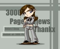 Thanks for 3000 Pageviews by roryalice