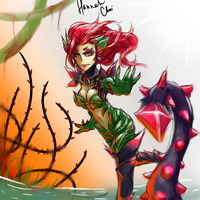 Zyra from League of Legends by TransformiceGurl