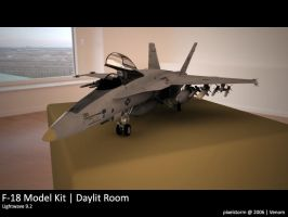 F-18 Model Kit by z3r0knight