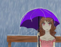 I think it's raining by kateheichou