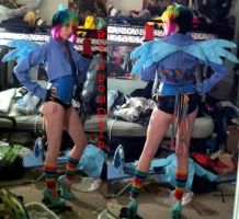 Rainbow Dash Cosplay by RougeLeaderRed