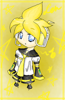 Commission- Chibi Len by Ronaka-san