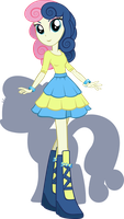 Equestria Girls - BonBon by Rariedash