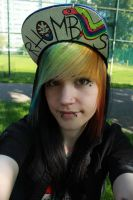 me in my adventure time hat! by CupCakeMonsterCrafts