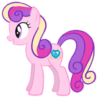 Bon-Bon in Princess Cadence's colors by AdolfWolfed4Life