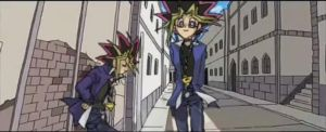 Atem and Yugi Soul eater by faraona2965