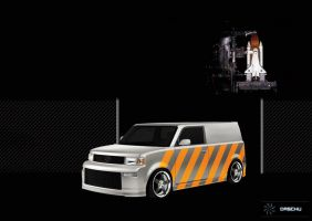 Scion xb - Transporter by DaSchu