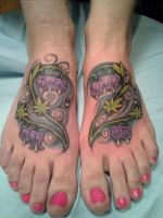 Freehand foot by Nelson23163