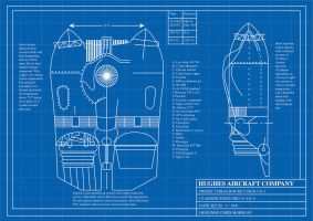 Rocketeer Jetpack blueprints by FarawayPictures
